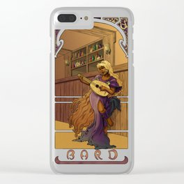 La Barde - The Bard Clear iPhone Case