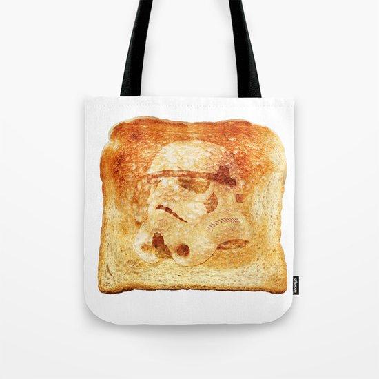 Stormtrooper Toast Tote Bag