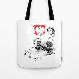 Polish King Jan III Sobieski & Marysienka Tote Bag