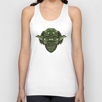 jedi Tank Tops featuring Aztec Jedi master Yoda iPhone 4 4s 5 5c 6, pillow case, mugs and tshirt by Greenlight8