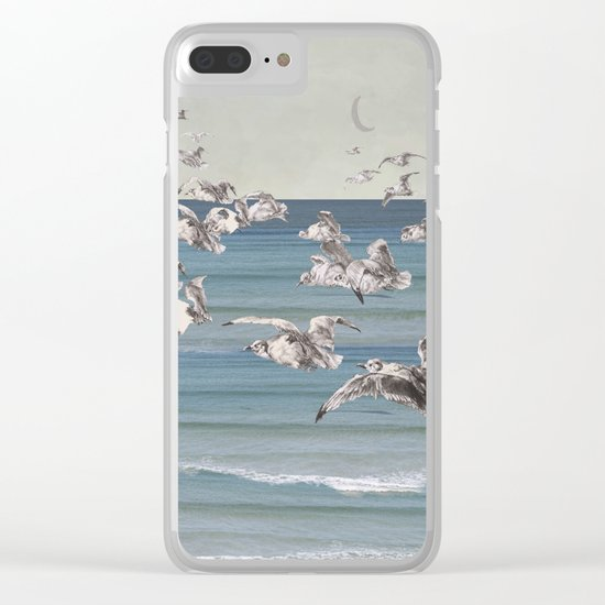 On their way Clear iPhone Case