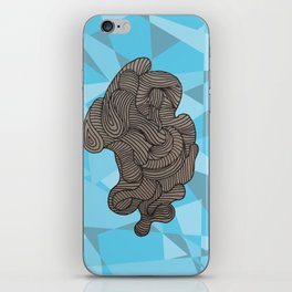 Ocean Swirls iPhone Skin