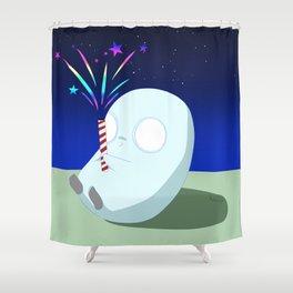 Firecracker [Light Series 1] Shower Curtain