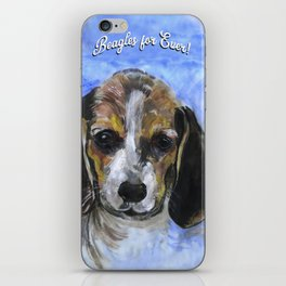 Beagles For Ever iPhone Skin