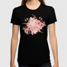 Night Meadow Blush Pink T-shirt