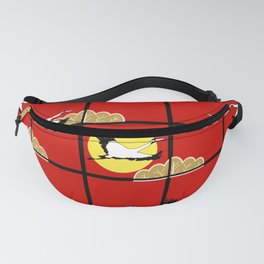 Flying cranes Fanny Pack