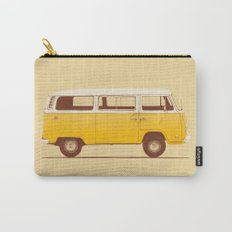 Yellow Van Carry-All Pouch