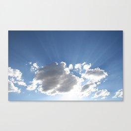 Crown of Light Canvas Print