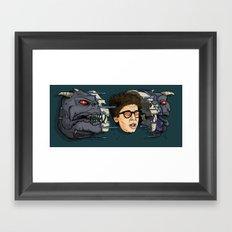 Terror Dog Framed Art Print