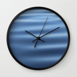 Rippled water surface Wall Clock