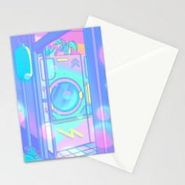Laundry Night Stationery Cards