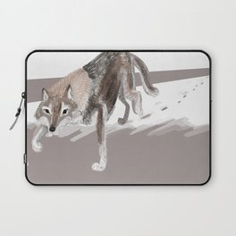 Totem Russian Wolf Laptop Sleeve