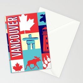 my vancouver Stationery Cards