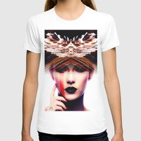 siren T-shirts featuring Siren by Cash Mattock