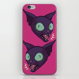 Mad Cat iPhone Skin