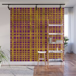 Not Your Grandmother's Golden Stripes Wall Mural