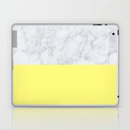 Lemon Marble Laptop & iPad Skin