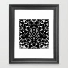 Crystal Skull Framed Art Print