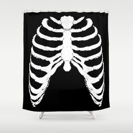 RIBS CAGE. Shower Curtain