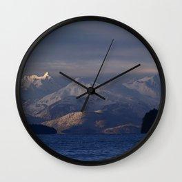 Chilkat Range Wall Clock