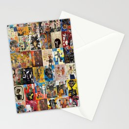 Basquiat Montage Stationery Cards