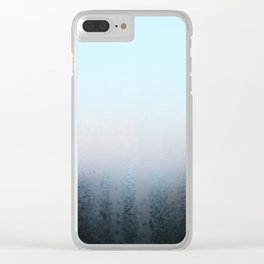 Misty Panes Clear iPhone Case