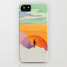 I Like to Watch the Sun Come Up - (White Version) iPhone (5, 5s) Slim Case