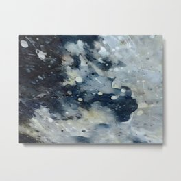Dark Galaxy1 watercolour by CheyAnne Sexton Metal Print