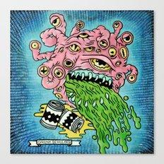 Drunk Beholder Canvas Print