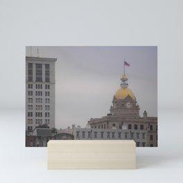 City Hall, Savannah, Georgia Mini Art Print