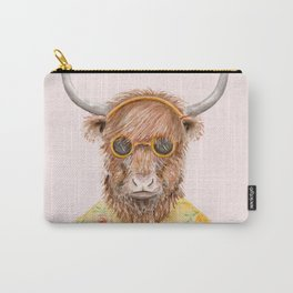 Y is for a Yak in Yellow Carry-All Pouch