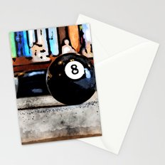 Shooting For The Eight Ball Stationery Cards