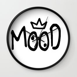 Mood #4 Wall Clock