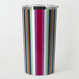 town stripe Travel Mug
