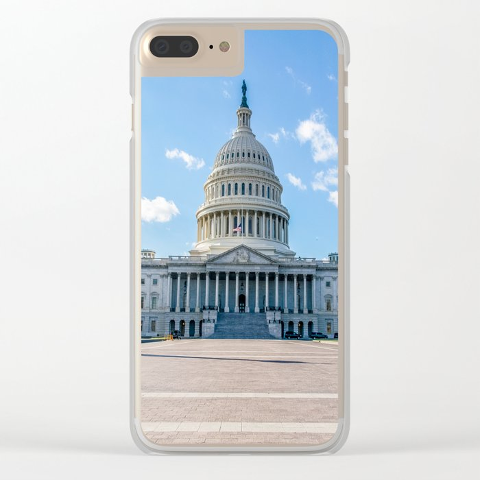A Quiet Day Clear iPhone Case