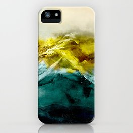 Abstract Mountain iPhone Case