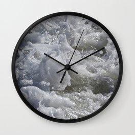 Foaming Sea Wall Clock