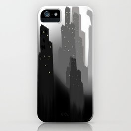 jungian city iPhone Case