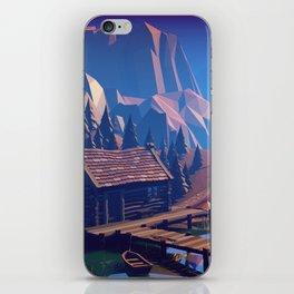 Boat Trip II - The Ruins iPhone Skin