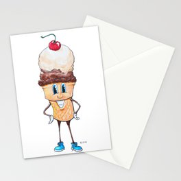 Ice Cream Man Stationery Cards