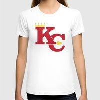 kansas city T-shirts featuring Kansas City Sports Red by Haley Jo Phoenix