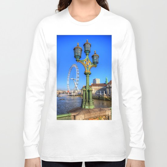 London Eye, London Long Sleeve T-shirt