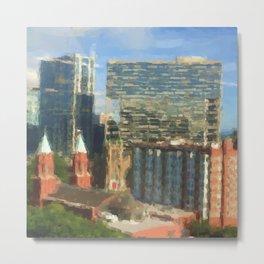 Sight Lines: Midtown Atlanta Metal Print