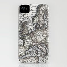 Old World Map iPhone (4, 4s) Slim Case