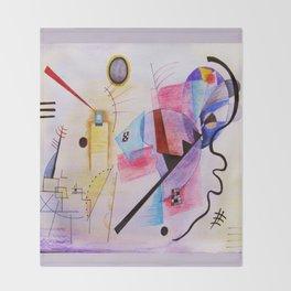 inspiration from Kandinsky . artwork Throw Blanket