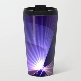 Violet laser Travel Mug