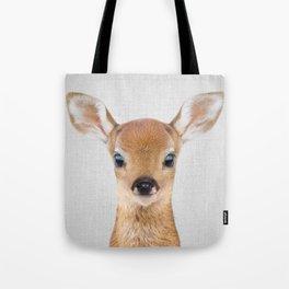 Baby Deer - Colorful Tote Bag