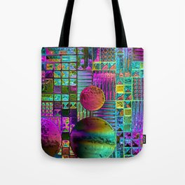 FLR WINDOWS Tote Bag
