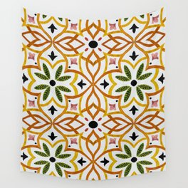 Obsession nature mosaics Wall Tapestry
