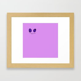 Google Eyes Framed Art Print